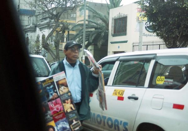 Street vendor in Lima